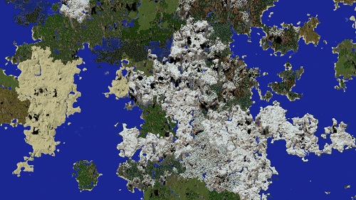 Dynamap live map Minecraft server Island PVP and SkyBlock