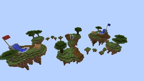 skyblock pvp area Minecraft sky-block server Island PVP and SkyBlock