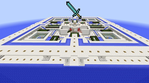 Island PVP Spawn area Minecraft server Island PVP and SkyBlock